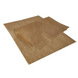 Einschlagpapiere ohne Druck, Pergamentersatz 35 x 25 cm braun fettdicht (ab 6 kg)
