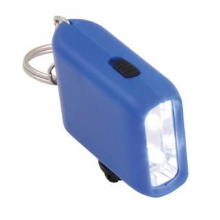 Schlüsselanhänger Taschenlampe mit Kurbel (ab 50 Stück)