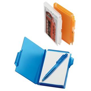 Notizbuch mit Kugelschreiber (ab 100 Stück)