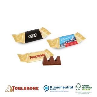 TOBLERONE Mini 8g mit Werbeschuber zu Ostern bedrucken (ab 500 Stück)
