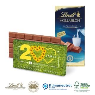 Lindt Premium Schokolade als Tafel verschiedene Sorten 100g (ab 100 Stück)