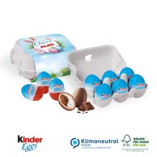 Schoko-Eier 6er-Set mit Kinder Eggs (ab 100 Stück)