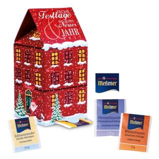 Meßmer Adventskalender Tee-Haus (ab 250 Stück)