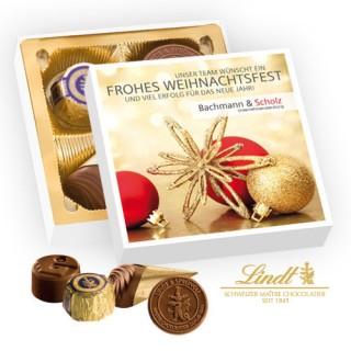 Lindt Kleiner Dank Präsentbox bedrucken (ab 100 Stück)