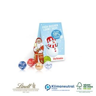 Schokoladenmischung von Milka im Weihnachtspräsent bedrucken