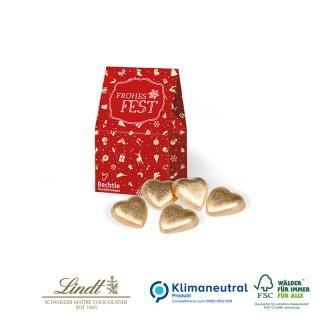 Lindt Herzen Christmas Minis bedrucken