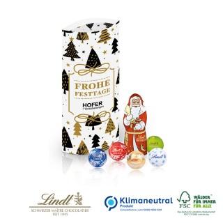 Kissenverpackung mit Weihnachtsmann bedrucken