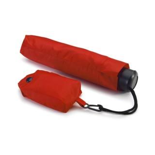 Faltbarer Taschenschirm mit Einkaufstasche (ab 50 Stk.)