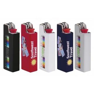 Aluminium Flat Case für BIC Feuerzeuge bedrucken inkl. Feuerzeug