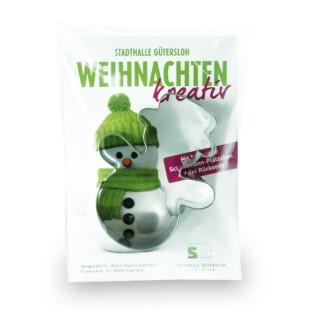 Backförmchen-Winter Werbetüte (ab 250 Stück)