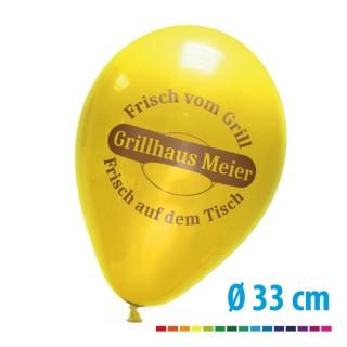 Bedruckte Ballons als Werbeartikel mit Ihrem Logo
