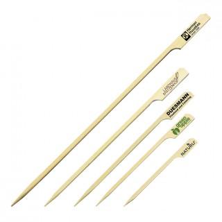 Bambusspieße mit Logo bedrucken lassen