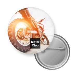 44 mm Buttons mit Sicherheitsnadel als Anstecker oder Pins bedrucken