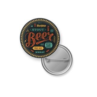 Top Seller 25 mm Buttons mit Sicherheitsnadel als Anstecker oder Pins bedrucken