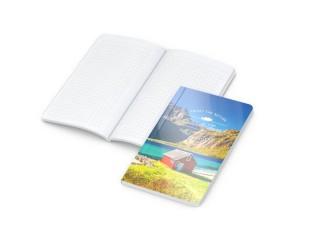 Notizbuch Copy-Book White Bestseller Pocket 4C-Digital (ab 250 Stück)