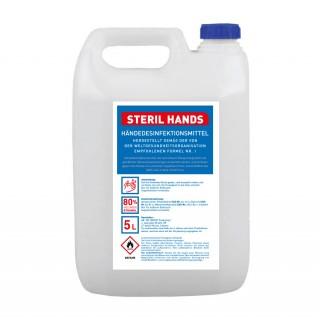 Händedesinfektionsmittel in 5L Kanister