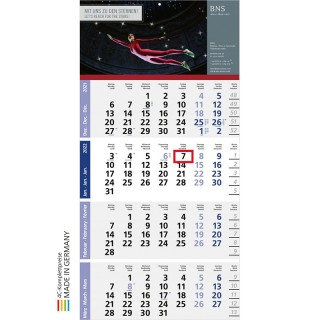 Wandkalender Logic 4 als Bürokalender oder Werbeartikel bedrucken