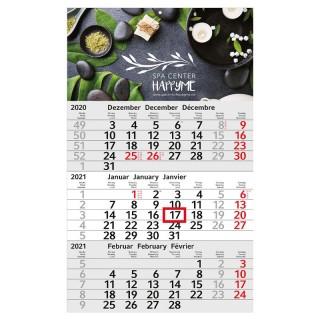 Wandkalender Budget 3 bedrucken