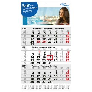Express Kalender Primus 3 Post A Last Minute Kalender bedrucken