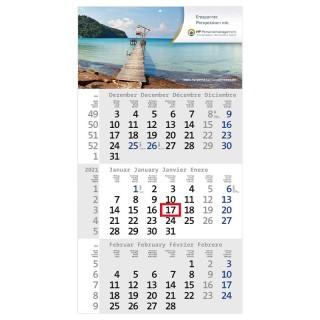 Einblatt-Monatskalender Rational 3