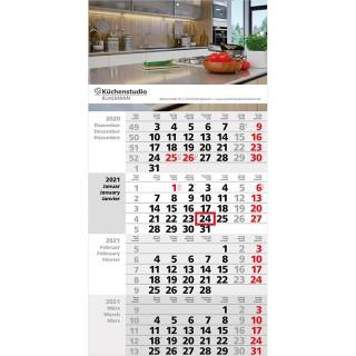 Wandkalender Square 4 bedrucken als Werbeartikel