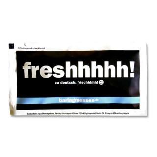 Freshhhhhh! Feuchtetücher mit eigenem Aufdruck oder Slogan gestalten und bedrucken