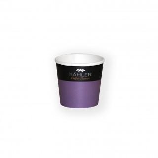 Kleine Espresso Pappbecher bedrucken als Werbebecher für Proben oder Kaffee
