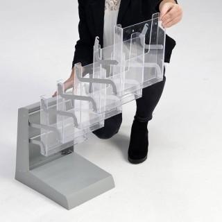 Falt-Prospektständer New Rack