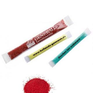 Farbzucker Sticks bedrucken als Werbeartikel