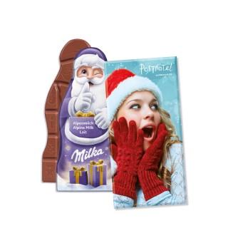 Milka Weihnachtsmann-Tafel 85 g (ab 100 Stück)