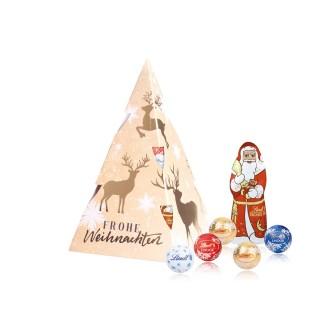Lindt Weihnachtsbaum Präsent (ab 100 Stück)