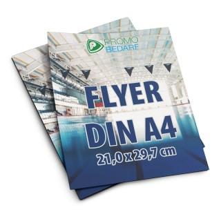 Flyer DIN A4 bedrucken als Werbemittel mit eigenem Flyerdruck