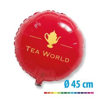 Folienballons als Werbeballons mit Logo bedrucken