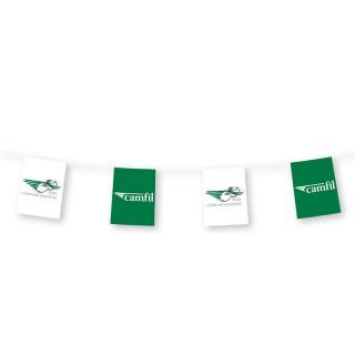 A4 Fahnenketten bedrucken 20x30cm auf 190g/m² Papier Flammhemmend B1 (ab 10 Stück)
