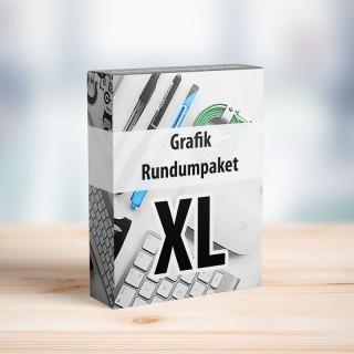 Grafikgestaltung Paket XL von unseren professionellen Fachkräften