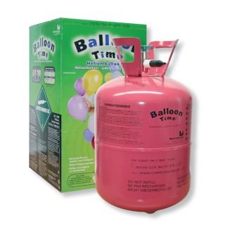 Helium Ballongas Einwegflasche Baloon Time 30
