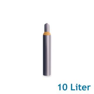 Helium Ballongas 10 Liter 1,8m³ Leihflasche inkl. Transport (1 Stück)