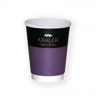 Heißgetränke Kaffeebecher bedrucken mit Werbung und Firmenlogo