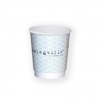 Kaffeebecher aus Pappe branden mit eigenem Logo