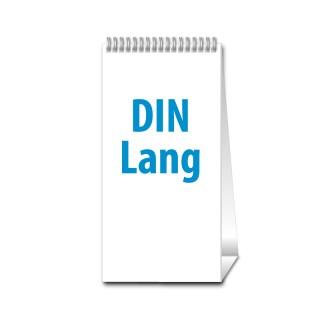 Tischkalender DIN Lang Hoch jeder Monat individuell (ab 10 Stück)