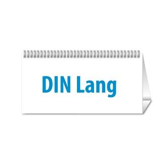 Tischkalender DIN Lang Quer jeder Monat individuell (ab 10 Stück)