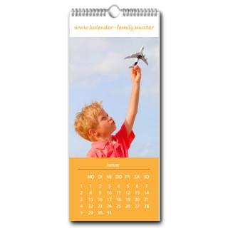Wandkalender Family jeder Monat individuell (ab 10 Stück)