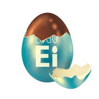 Logo Eier mit Druck