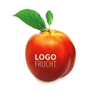 Nektarine mit Logo bedrucken als Werbemittel