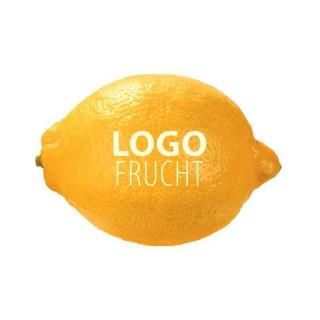 Logo Zitrone bedrucken
