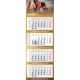 Wandkalender Centrum als Mehrblock-Monatskalender bedrucken