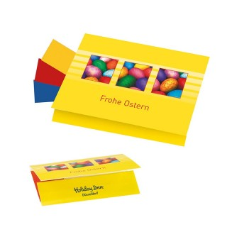 Farbige Ostereier Werbeartikel bedrucken lassen Färben