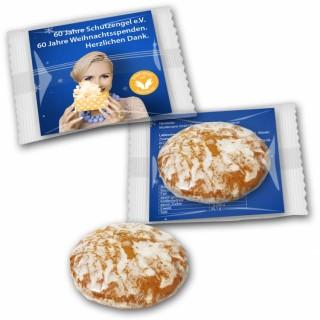 Oblatenlebkuchen Minis auf Karte 15g bedrucken
