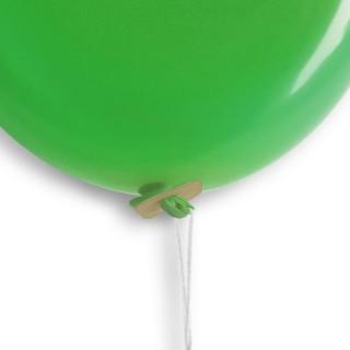 Öko Fixverschlussfäden 100% Biologisch abbaubar für Luftballons 1010 (1.000 Stück)