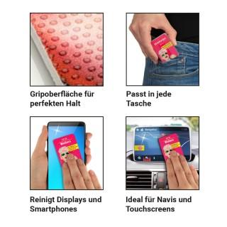 PocketCleaner vollflächig in Fotoqualität bedruckt (ab 75 Stück)